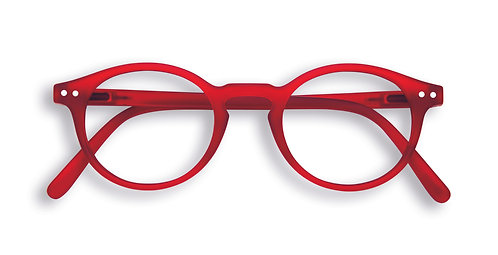 Izipizi Screen Glasses #H The Small Face - Red
