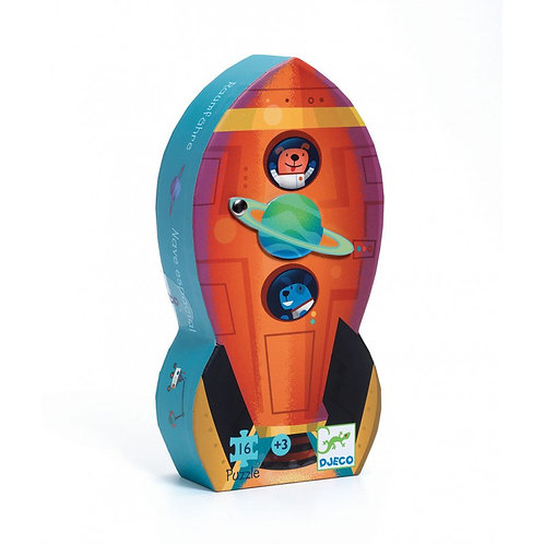 Djeco Puzzle The Space Ship