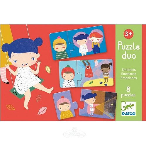 Djeco Puzzle Duo Emotions