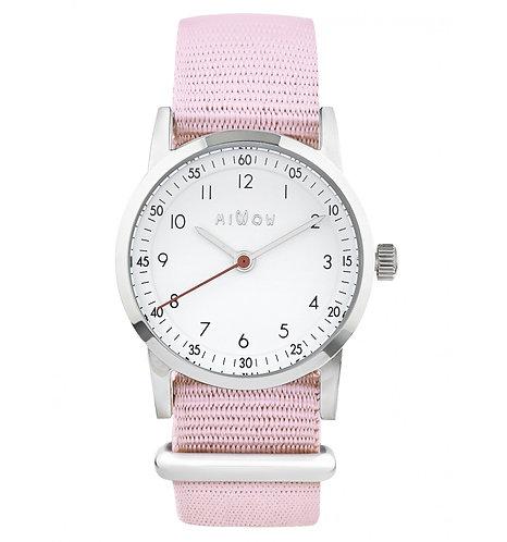 Millow Classique Watch Pale Pink Strap