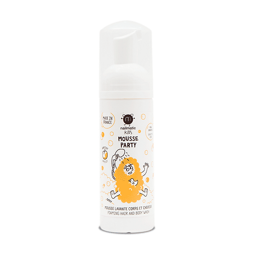 Nailmatic Mousse Party Apricot Hair & Body Foam