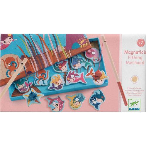 Djeco Magnetic's Fishing Mermaid