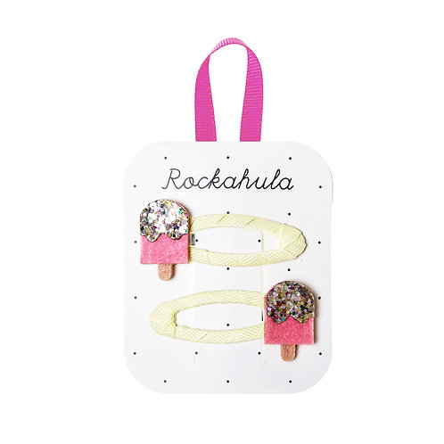Rockahula Ice Lollies Glitter Clips