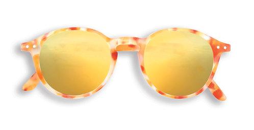 Izipizi Shape #D The Iconic - Yellow Tortoise Mirror