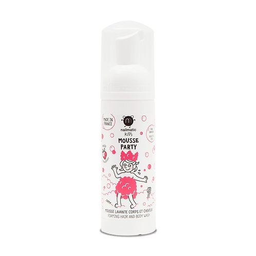 Nailmatic Mousse Party Strawberry Hair & Body Foam
