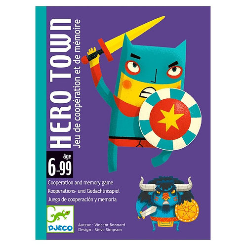 Djeco Cards Game Hero Town