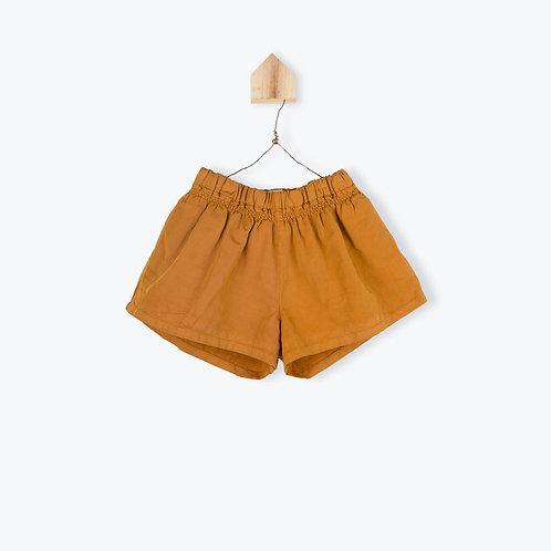 Arsène et les Pipelettes Short Skirt Caramel