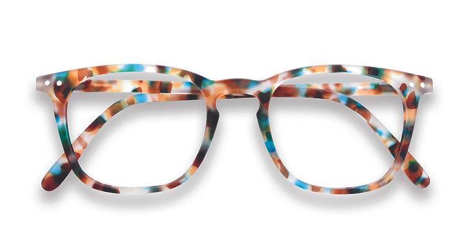 Izipizi Screen Glasses #E The Trapeze - Blue Tortoise