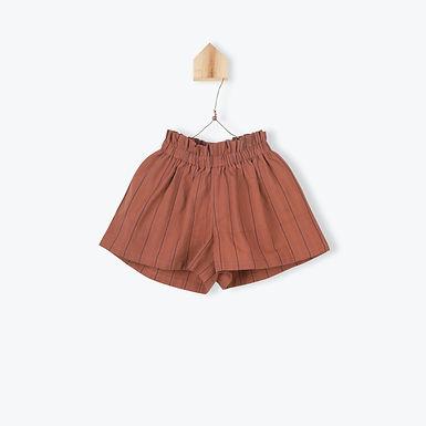 Arsène et les Pipelettes Short Skirt Paprika