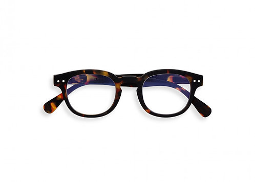 Izipizi Screen Glasses JUNIOR #C The Retro - Tortoise