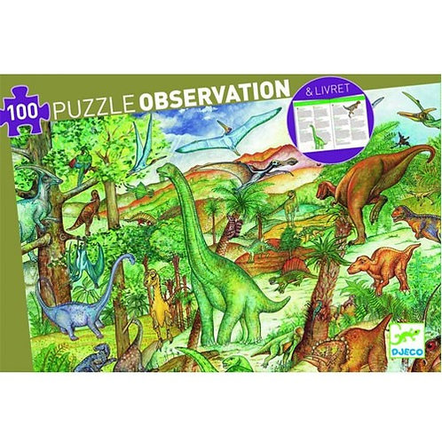 Djeco Puzzle Observation Dinosaurs