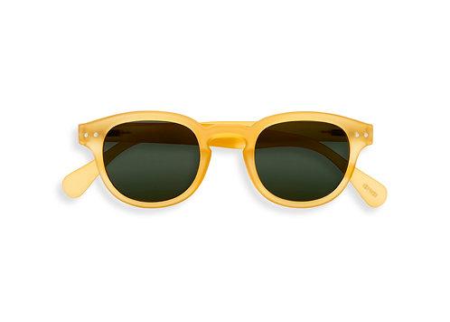 Izipizi Adult Shape #C The Retro - Yellow Honey