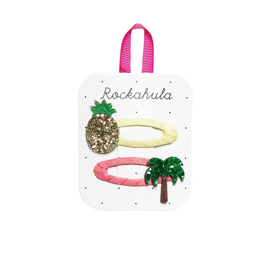 Rockahula Tropical Island Glitter Clips