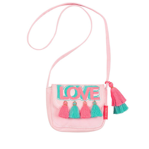 Sunuva Girls Pink Love Hippy Bag