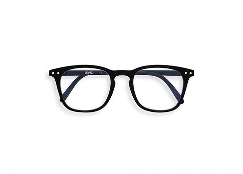 Izipizi Screen Glasses JUNIOR #E The Trapeze - Black
