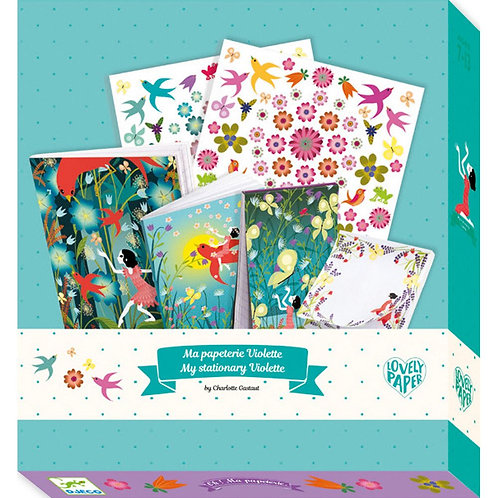 Djeco My Stationery Violette