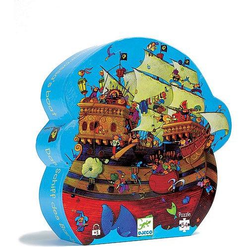 Djeco Puzzle Barbarossa's Boat