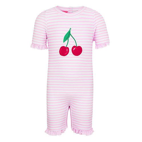 Sunuva Baby Girls Cherries Sun Suit