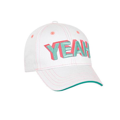 Sunuva Girls White 'Yeah' Cap