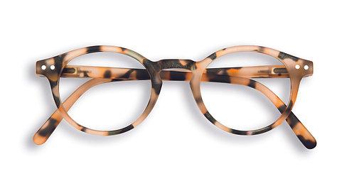 Izipizi Screen Glasses #H The Small Face - Light Tortoise