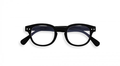 Izipizi Screen Glasses JUNIOR #C The Retro - Black
