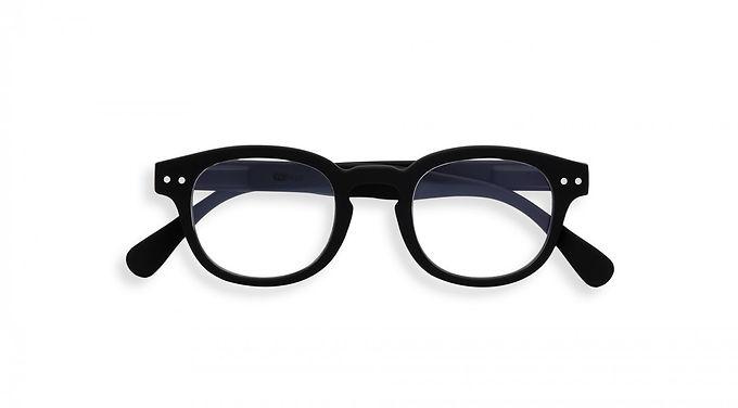 Izipizi Screen Glasses JUNIOR #C The Retro - Black