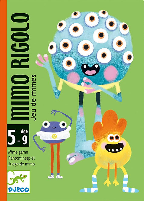 Djeco Cards Game Mimo Rigolo