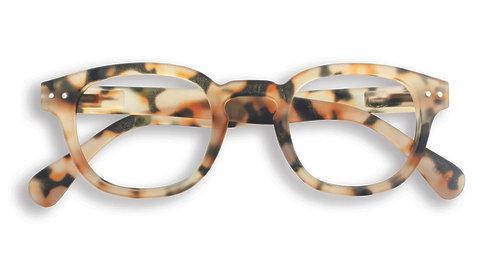 Izipizi Screen Glasses #C The Retro - Light Tortoise