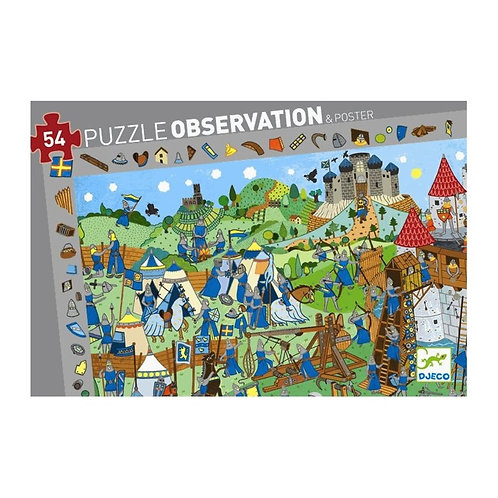 Djeco Puzzle Observation Knights