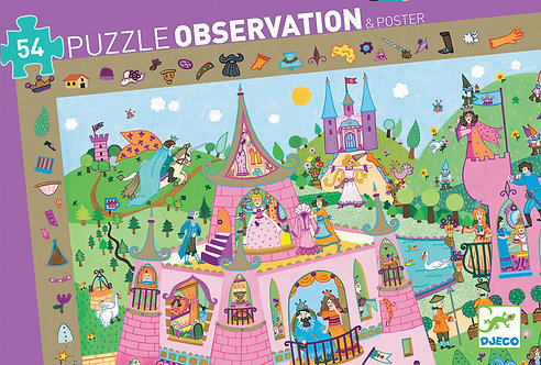 Djeco Puzzle Observation Princess