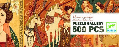 Djeco Puzzle Unicorn Garden
