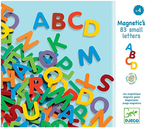 Djeco Magnetic 83 small letters