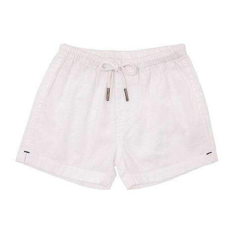 Sunuva Baby Boy White Cotton Short