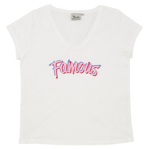 Studio Kelimé T-Shirt Famous