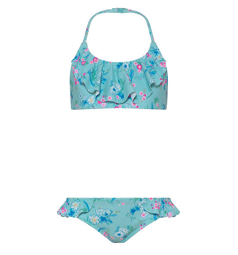 Sunuva Girls Blue Birds of Paradise Bikini