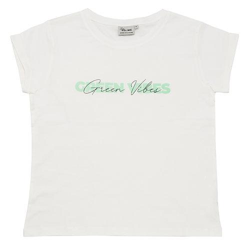 Studio Kelimé T-Shirt Green Vibes