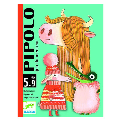 Djeco Cards Game Pipolo
