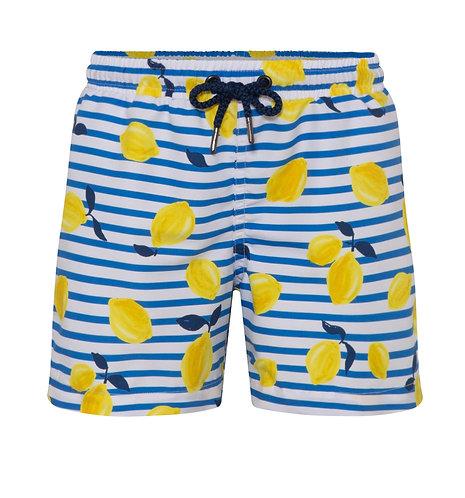 Sunuva Boys Sicilian Lemon Swim Shorts