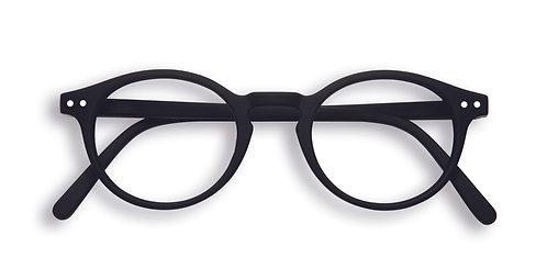 Izipizi Screen Glasses #H The Small Face - Black
