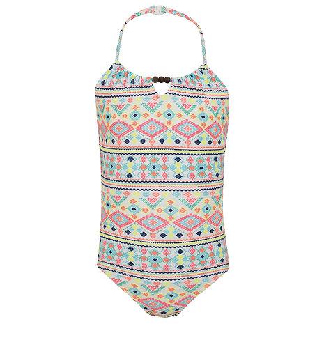 Sunuva Girls Tribal Beaded Swimsuit