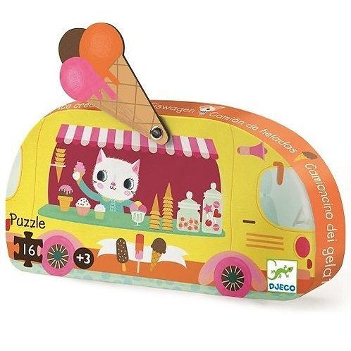 Djeco Puzzle Ice Cream Truck