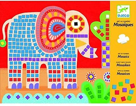 Djeco Elephant and Snail Mosaics