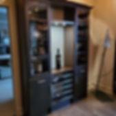 liquor cabinet! Cheers!  #winestoragesys