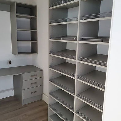Another custom closet in our _Cloud_ fin