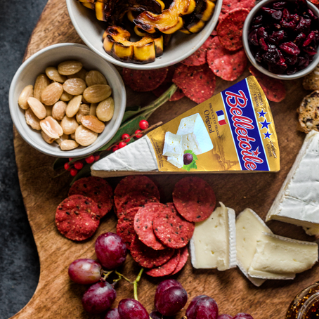 Holiday Cheese Board How-To