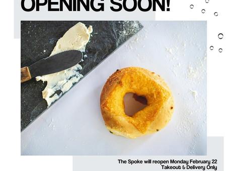 The Spoke is Opening Soon!