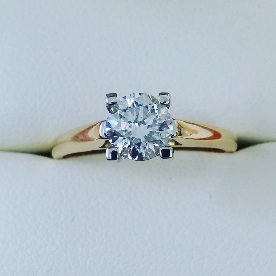 1.10ct Diamond Solitaire Ring
