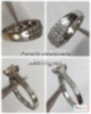 White Gold Rhodium Plating & Ring Polishing