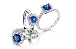 Sapphire & Diamond Jewellery