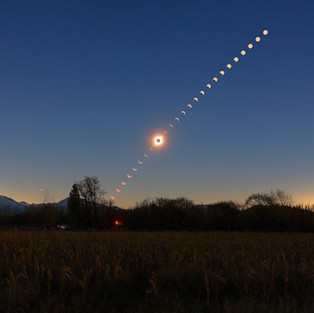 Phases of a Total Solar Eclipse
